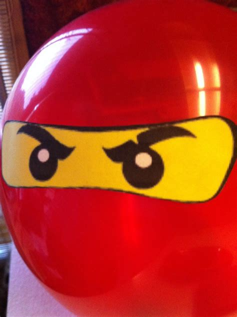 printable ninjago eyes for balloons ninjago birthday party idea print out lego ninja eyes and