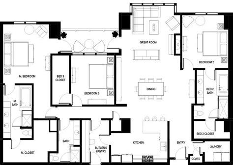 small condo floor plans best 25 condo floor plans ideas on pinterest 2 bedroom