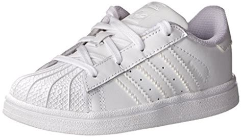adidas originals superstar foundation i shoe infant toddler white white white 6 5 m us
