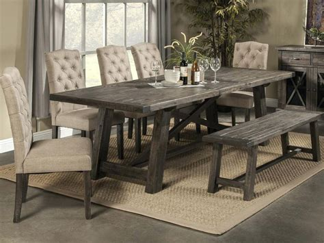 rustic dining room sets sophisticated rustic dining room set tall kitchen table