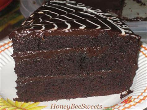 American Chocolate Cake honey bee all american chocolate cake