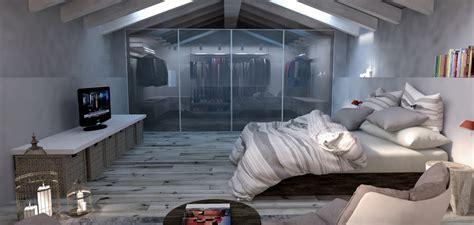 camere con cabina armadio foto soppalco con cabina armadio di emotional