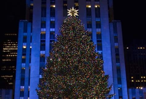 Nycdata Rockefeller Center Christmas Tree Lighting Lighting Of Tree 2014