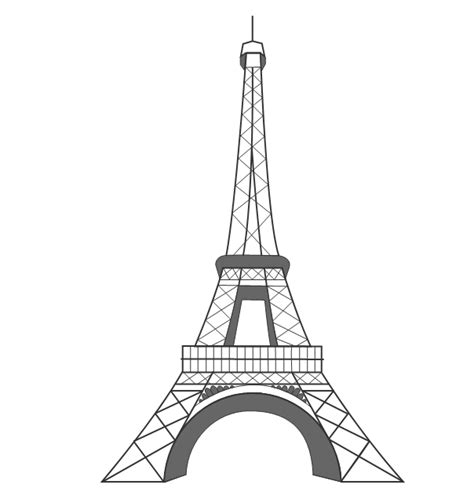 imagenes de la torre eiffel en blanco y negro dibujos torre eiffel imagui