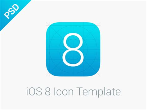 ios app template ios 8 icon template by mallie dribbble