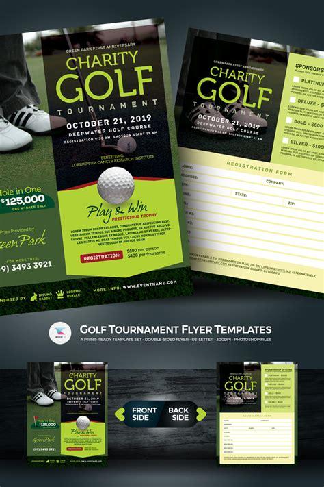 Golf Tournament Flyer Psd Template 67021 Tournament Flyer Template