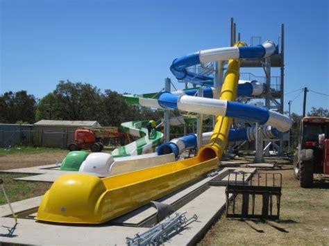 Reece Plumbing Emerald water slides shine spotlight on local business