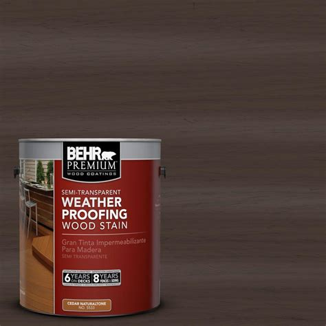 behr premium 1 gal st 103 coffee semi transparent weatherproofing wood stain 507701 the home