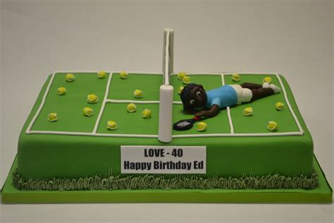 Green Decorations For Home large tennis court cake with model celebration cakes