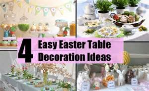 Easy easter table decoration ideas simple ways of decorating the