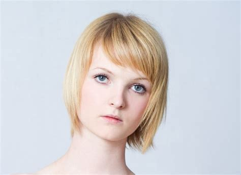 hairstyles for short hair with bangs fat people dashing short hairstyles for people with big foreheads