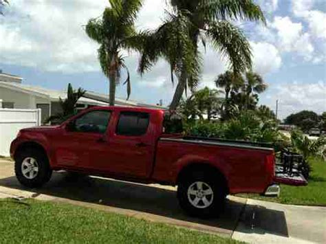 nissan frontier long bed buy used 2012 nissan frontier sv crew cab pickup 4 door long bed lava red 4 0l in