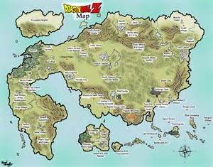 Dragon S Dogma World Map by Dragon Ball Map By Templarian93 On Deviantart