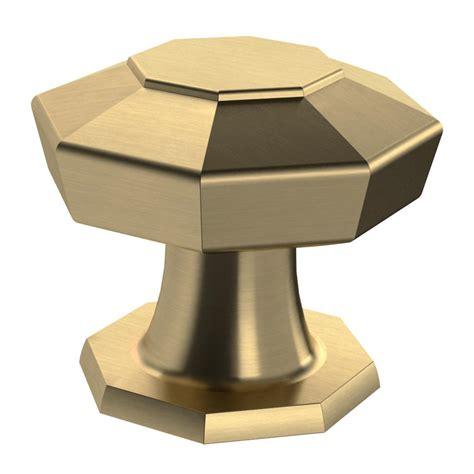 martha stewart living cabinet knobs martha stewart living faceted 1 3 16 in chagne bronze