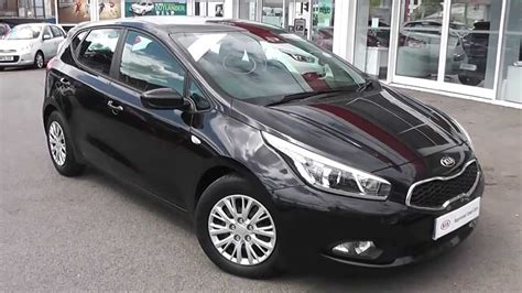 Kia Approved Garages Kia Approved Used Car Kia Ceed 1 Eco Black Ld62ejv
