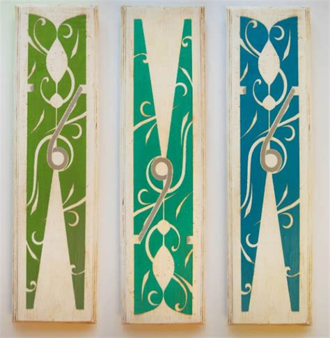 Ballard Designs Rugs laundry room clothespin art copycat crafts