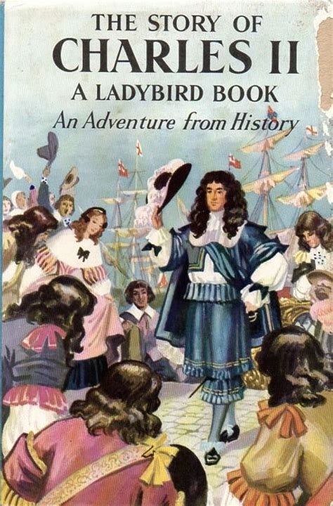 Book News Its Vintage by Charles Ii Vintage Ladybird Book Adventures From History