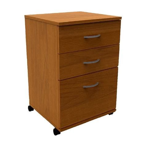 Drawers Lowes shop nexera cappuccino 3 drawer file cabinet at lowes
