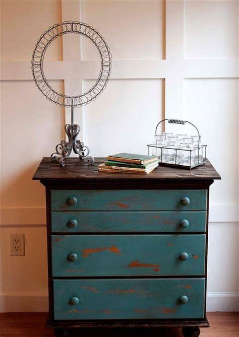 refurbished couch refurbished vintage chest drawers pallet tutorial