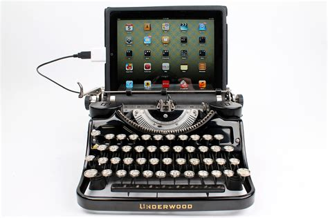 Keyboard Usb Pc usb typewriter computer keyboard black underwood model f w