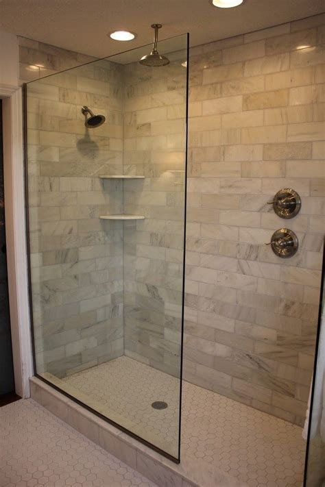 Bathroom Showers Ideas Pictures Design Of The Doorless Walk In Shower Decor Around The World