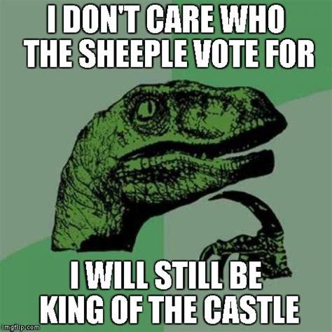 Sheeple Meme - philosoraptor meme imgflip