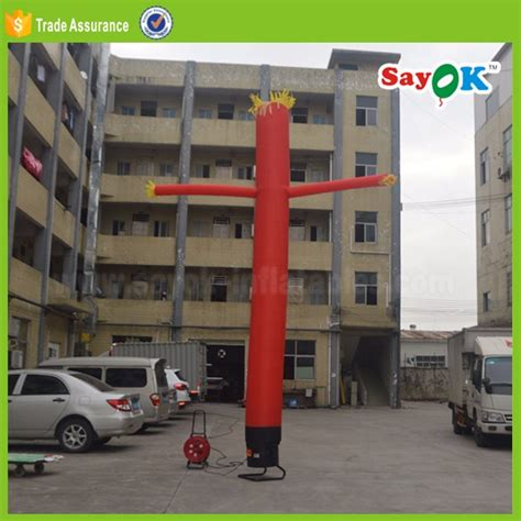mini inflatable tube man for desk advertising mini inflatable desktop air dancer car wash