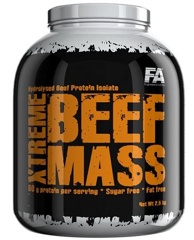 Mega Labs Mass Xtreme The Ultimate Bnob fitness authority xtreme beef mass 2500g odżywki gainer fitness authority