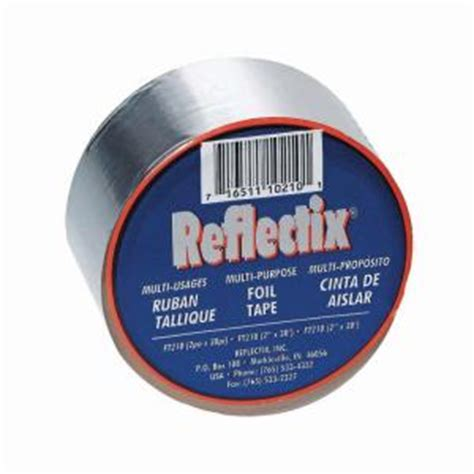 reflectix 2 in x 30 ft reflective foil ft210 the