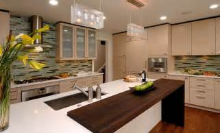contemporary kitchen wenge wood countertop by grothouse