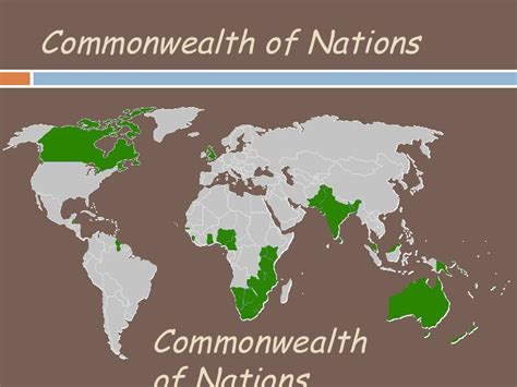 commonwealth  nations ingles
