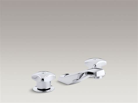 wide set bathroom faucets kohler revival widespread bathroom faucets