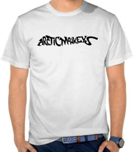 Kaos Siluet Superman jual kaos arctic monkeys logo iii arctic monkeys