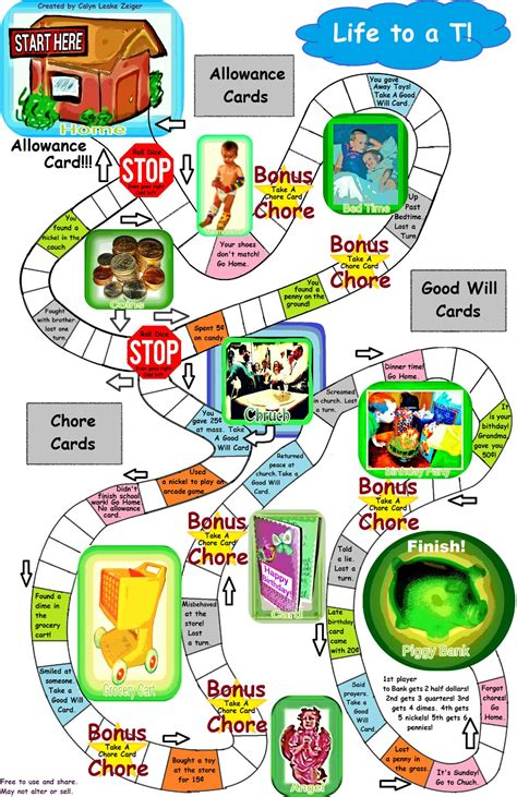 best printable board games 12 best images of printable board game of life free