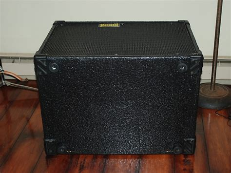 used schroeder 1515 l bass cabinet 2x15 quot 8ohm 800w rms