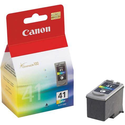 Cartridge Canon 41 Color canon cl 41 inkjet cartridge page 308pp colour