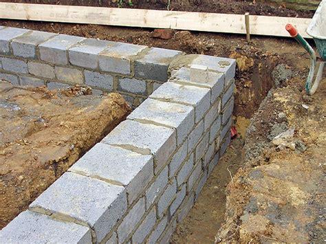 Building A Concrete Block House by Groundworks Eks Construction
