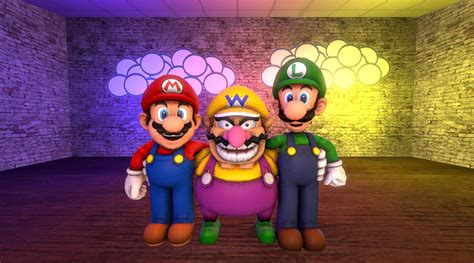 and wario the gallery for gt wario and waluigi and mario and luigi
