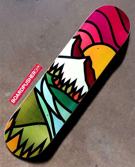 Handcrafted Skateboards - create a skateboard deck home design