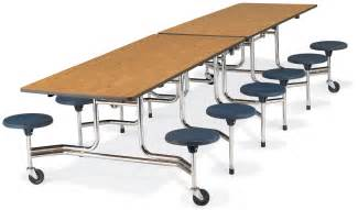 virco mts series stool cafeteria table