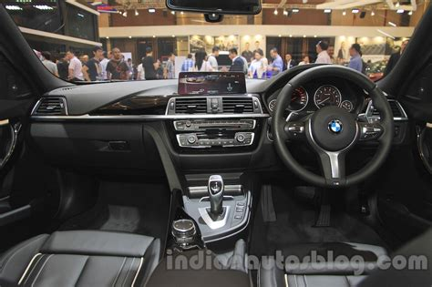 2016 bmw dashboard 2016 bmw 3 series dashboard at the 2015 gaikindo indonesia