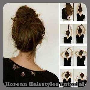 Korean Hairstyle Tutorial For Hair by Korean Hairstyles Tutorial Android Apps On Play