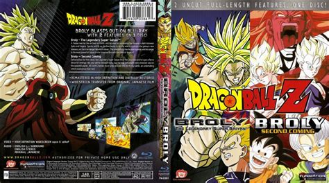 dragon ball broly double feature blu ray scanned