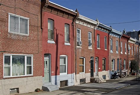 row home philadelphia row houses by brendan reals