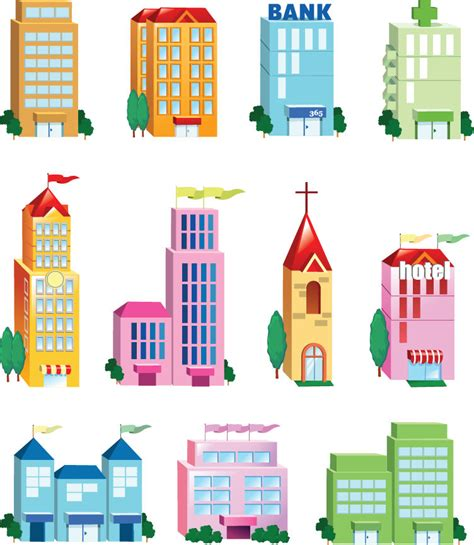 infografis animasi riau one map house of infographics vector building icon set free vector 4vector