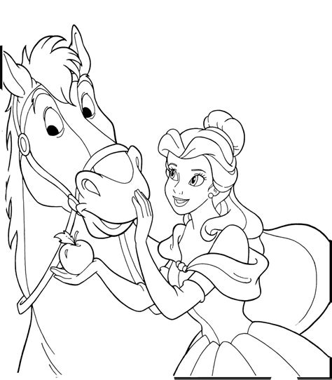 princess horse coloring pages free coloring sheets