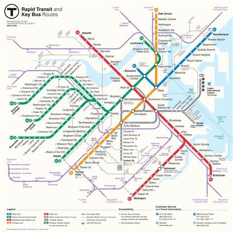 boston mbta map mbta gt about the mbta