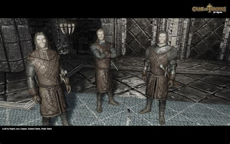 Mod Game Of Thrones | game of thrones followers at skyrim nexus mods and