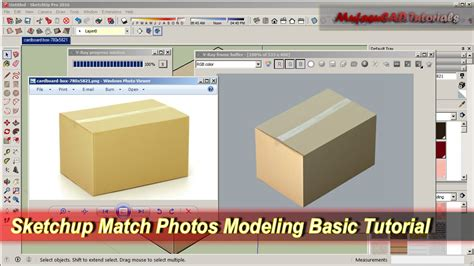 sketchup tutorial on youtube sketchup match photos modeling basic tutorial youtube