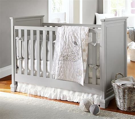pottery barn crib bedding cora nursery bedding set pottery barn kids